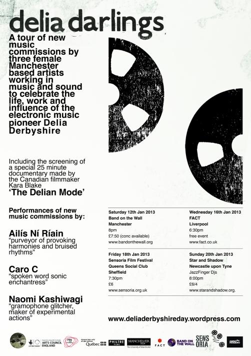 DD Tour Poster