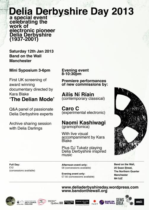 Delia Derbyshire Day Poster