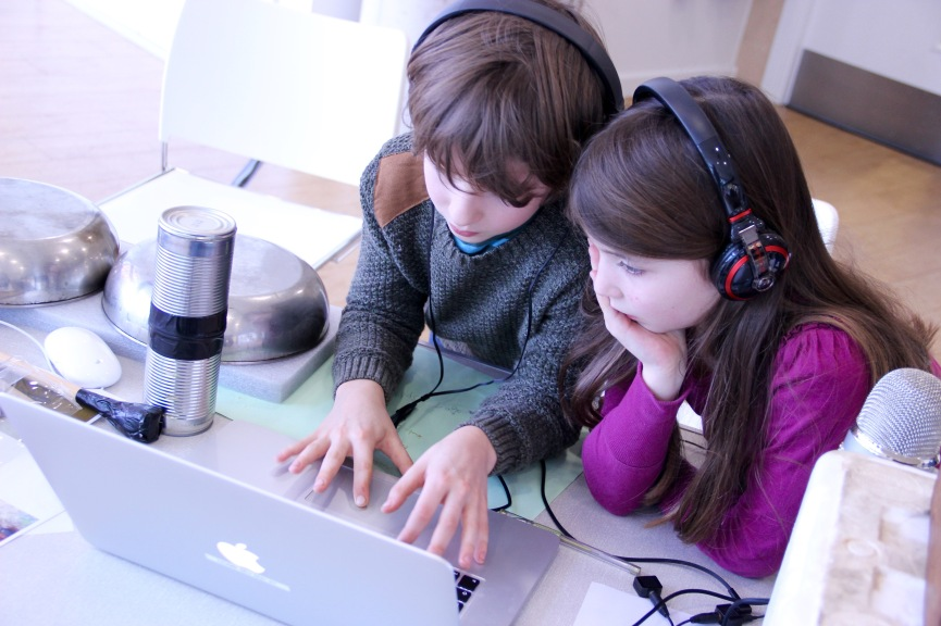 HOME Delia Derbyshire Day Family Workshop 2016 - 12