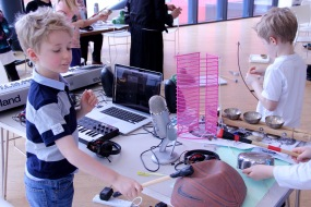 HOME Delia Derbyshire Day Family Workshop 2016 - 3