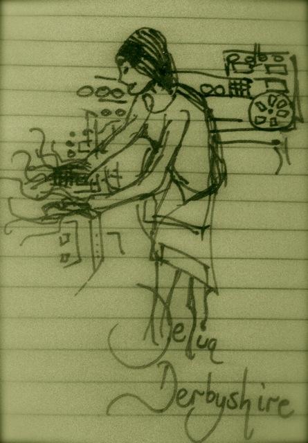 Sketch by Ailís Ní Ríain