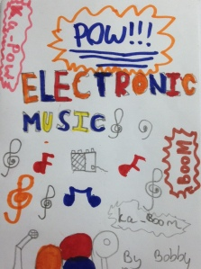 Music tech project notebook cover